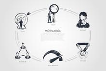 Motivation, Vision, Support, Success, Goal, Performance