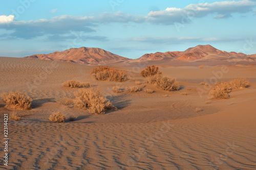 Aird landscape in Yazd desert, southern Iran