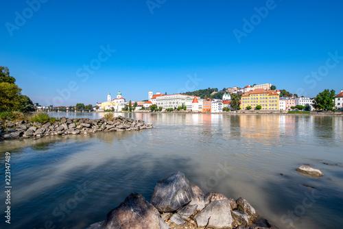 Carta da parati Dreiflüssestadt Passau