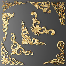 Gilded Stucco, Collection Gold...