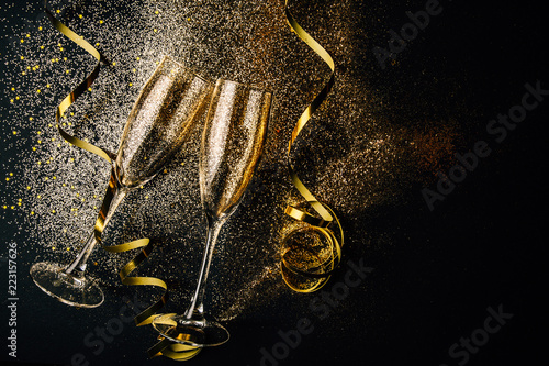 New year celebration party concept