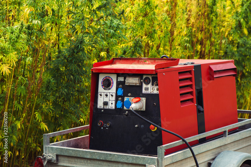 Photo Electric power aggregate generator