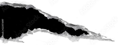 Fotografía  Déchirure metal et acier abîmé