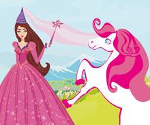 Beautiful Fairy With Magic Wand