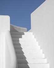 Cycladic Minimalism - White Walls And Star