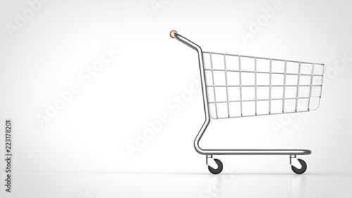 ショッピングカート 側面 右 Adobe Stock でこのストックイラストを