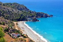 Playa De Canuelo Andalusia Costa Del Sol Spain
