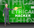 Ethical Hacker Tracking Server Vulnerability 3d Rendering