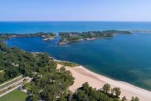 Presque Isle Peninsula Lake Erie Pennsylvania