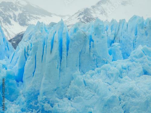 Foto op Aluminium Fantasie Landschap Glaciar Perito Moreno, hermoso lugar en el calafate, al sur de Argentina