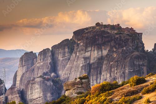 Tuinposter Historisch geb. Monastery in Meteora, Greece