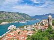 Cruise ships entering Kotor Port
