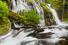 Panther Creek Falls In Washington State