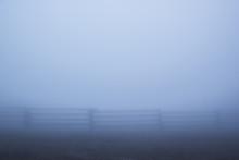 Dense Fog Settles Over A Villa...