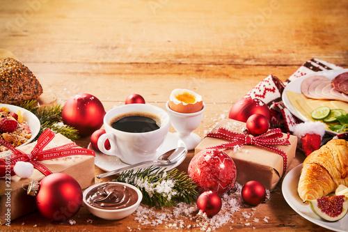 Obraz Intercontinental Christmas breakfast spread - fototapety do salonu