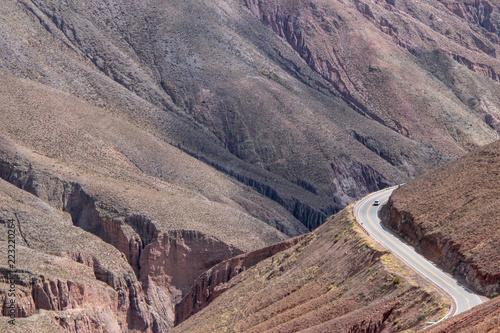 Foto op Aluminium Cappuccino Winding roads