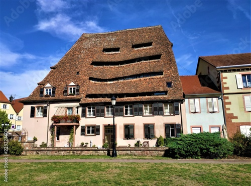 Foto  The historic salt house Maison du Sel in Wissembourg