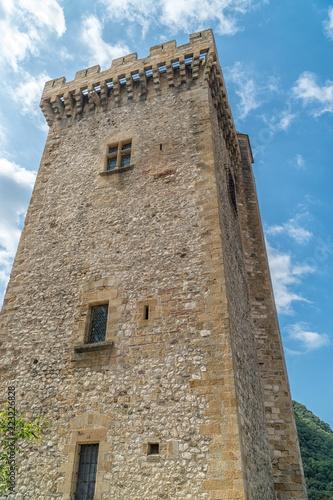 Fotografie, Obraz  Tour médiévale carré