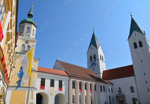 Foto  Freising, Dom und Residenz