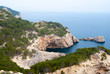 Breathtaking landscapes along Costa Brava in Catalonia Spain
