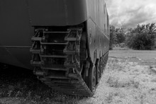 Armored Personnel Carried Tread Closeup
