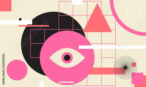 minimalna-geometryczna-tkanina-transparent-wektor-szablon-projektu