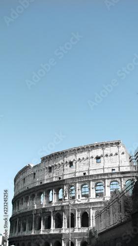 Foto op Plexiglas Rome View of the Colosseum - Rome - Italy