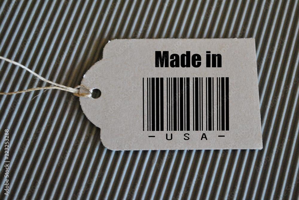 Fototapeta Made in USA