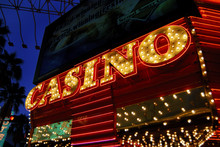 Casino Sign - Downtown Las Vegas