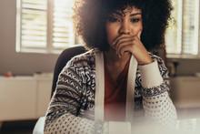Pondering Female Designer Thin...