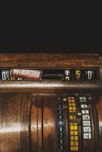 Close-up Of A Vintage Cash Reg...
