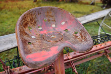 Vintage Tractor Seat