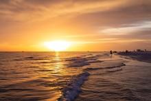 Beautiful Sunset On Siesta Key...