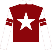 Jockey Silks In Red