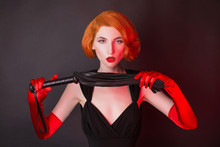 Redhead Mistress Dominant Girl...