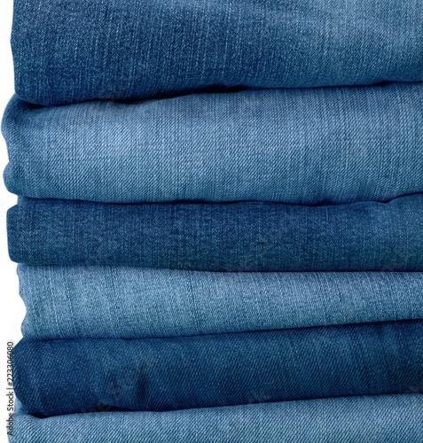 Fotografia  Stack of Jeans