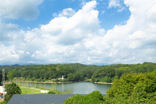 Spoed Foto op Canvas Nieuw Zeeland 宮沢湖