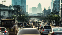 Bangkok Morning Rush Hour Haev...