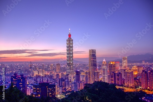 Fotografía  台湾夜景