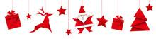 Boże Narodzenie Origami Wektor