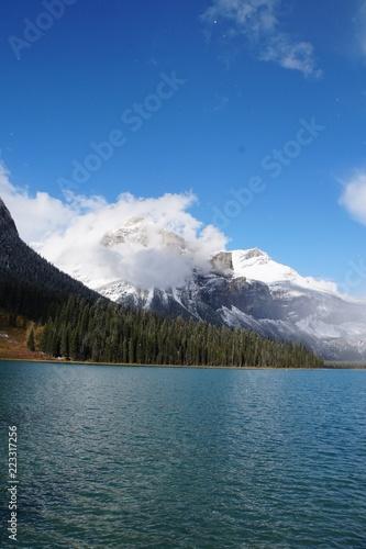 Poster Bergen Emerald Lake - Canada