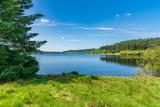 Widok na Alwen Reservoir, Conwy, Walia, Wielka Brytania