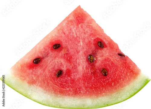 Slice of Watermelon - Isolated