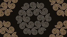 Embroidery Seamless Pattern Sp...