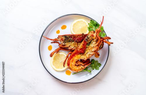Obraz na płótnie grilled lobster steak