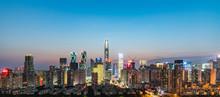 Shenzhen Skyline At Night