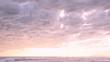 Cloudy seascape view in Viareggio, Tuscany, Italy