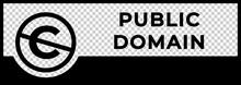 Public Domain Sign With Crosse...