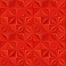 Red Abstract Geometric Stripe ...