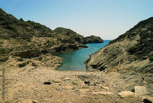 Mediterranean sea coast / Cap de Creus national park / Costa Brava, Spain